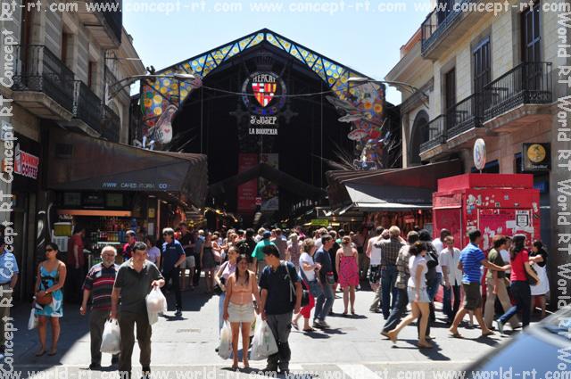The most interesting markets of barcelona - Calle boqueria barcelona ...