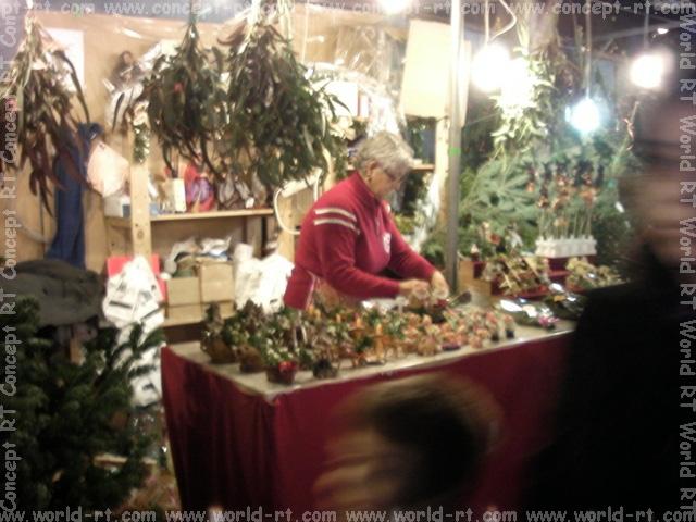 Christmas market near Sagrada Familia